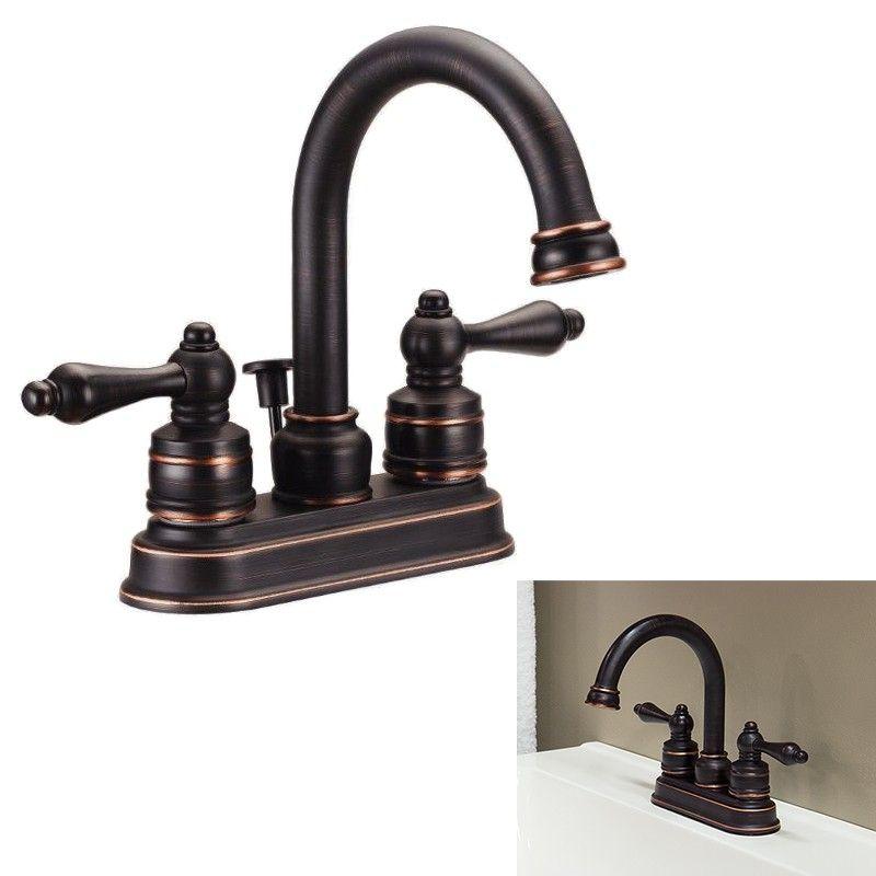 Description Function Bathroom Sink Faucets Feature Centerset