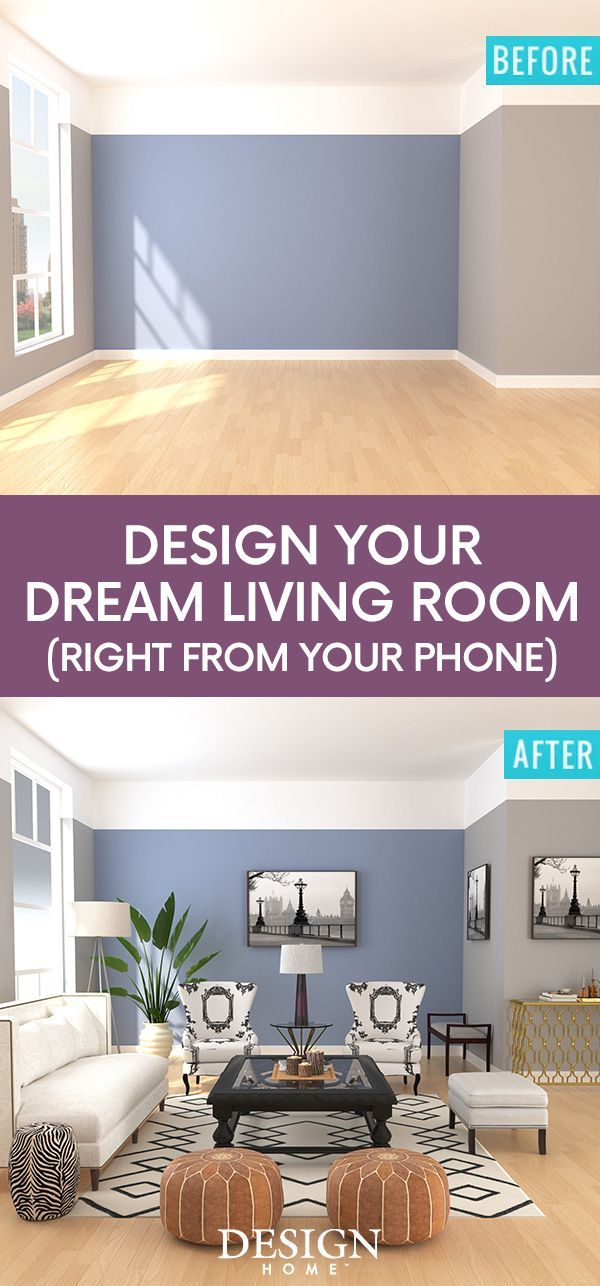 Design Your Living Room App Inspiration Channel Your Interior Design Aspirations And Make Your Dream Home Design Decoration