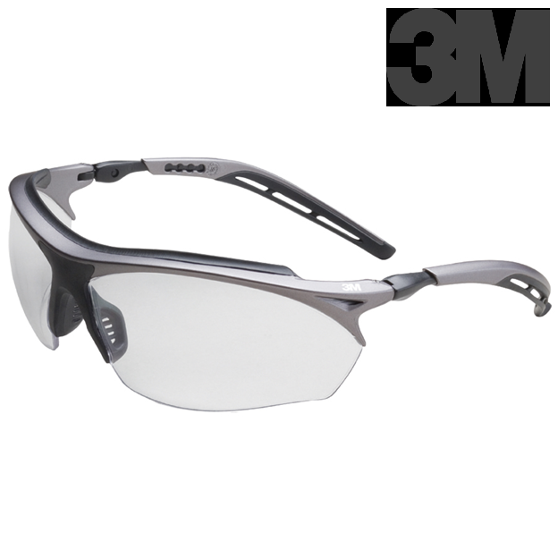 3M 14246 Maxim Protective Safety Glasses GT with Clear A/F
