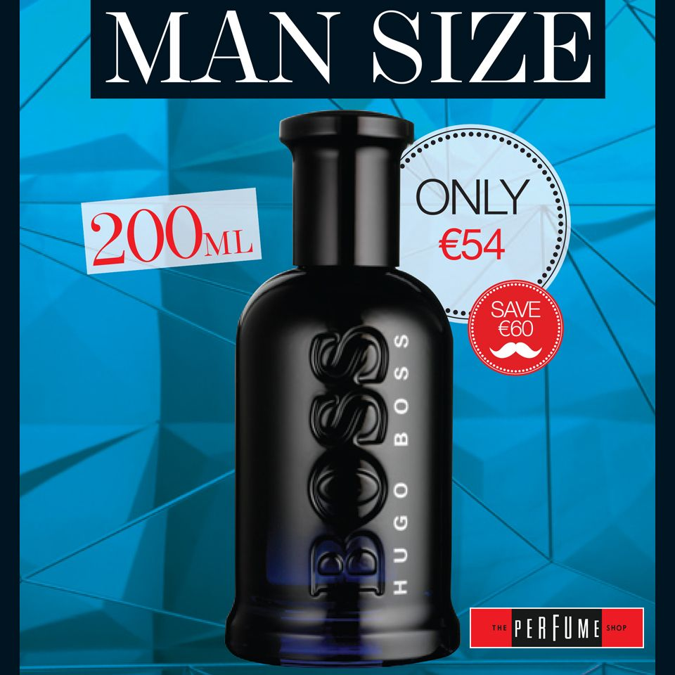 d8b72f904f0c3c Fantastic MAN SIZE promotion on Boss Bottled Night 200ml at only €54 which  is a €60 saving from The Perfume Shop, Ilac Centre, Henry Street, Dublin 1