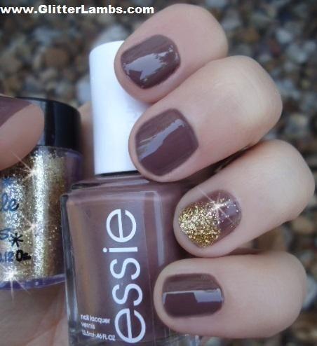 Gold Glitter Nail Polish Essie