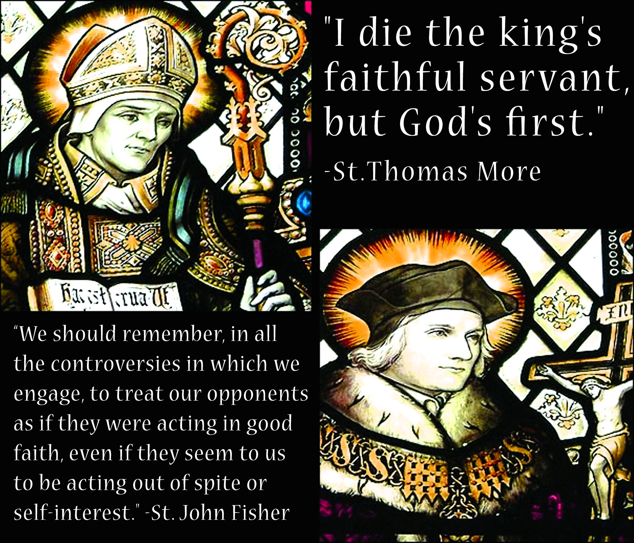 Today Is The Feast Day Of Saint Thomas More And Saint