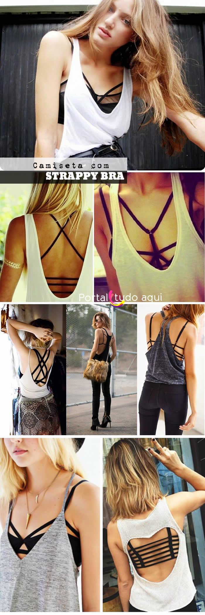 Strappy Bra - Tendência de moda para usar já