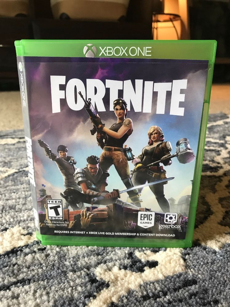 Fortnite Xbox One 2017 Physical Disc And Case Check Pictures For