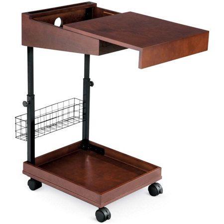 Rolling Desk With Hidden Storage Rolling Desk At Home Furniture Store Desk