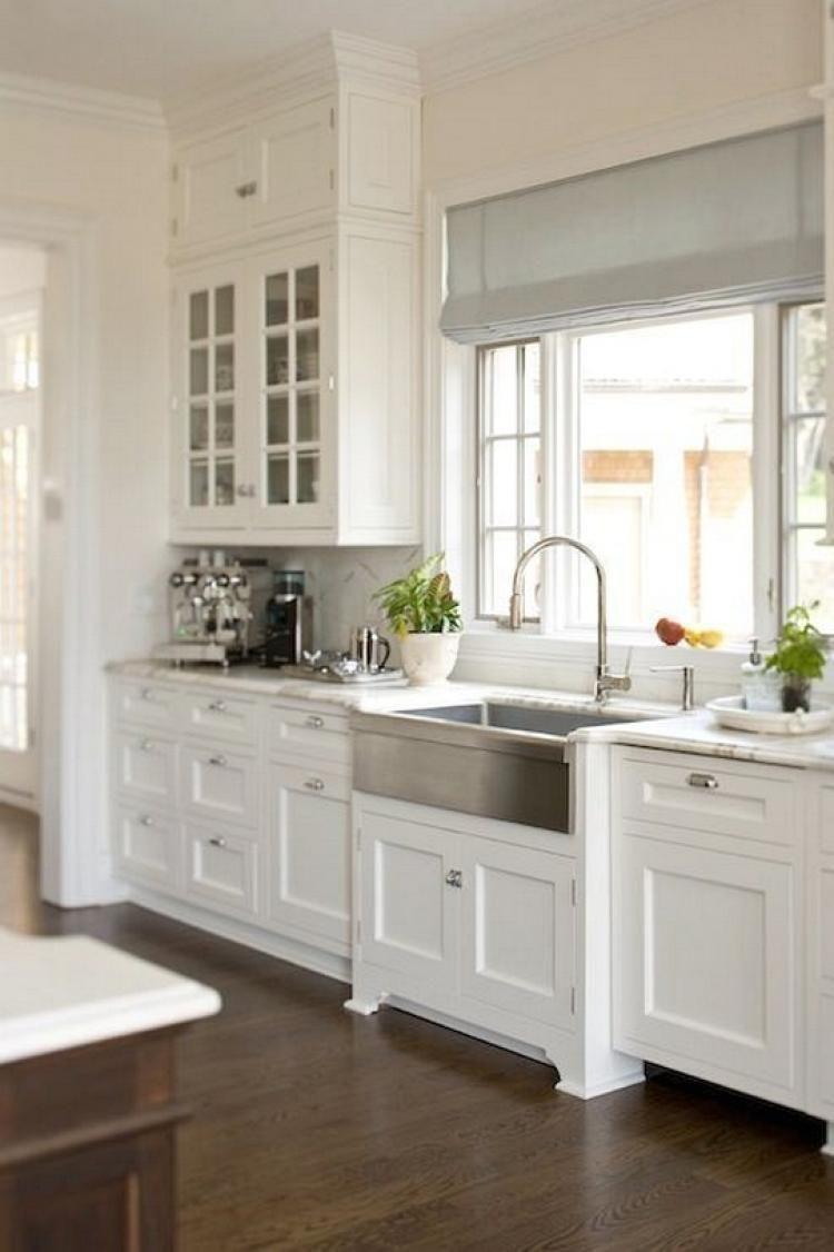100 Awesome Craftsman Kitchen Design Ideas Remodel Pictures Kitchen Cabinet Design Farmhouse Sink Kitchen Kitchen Renovation