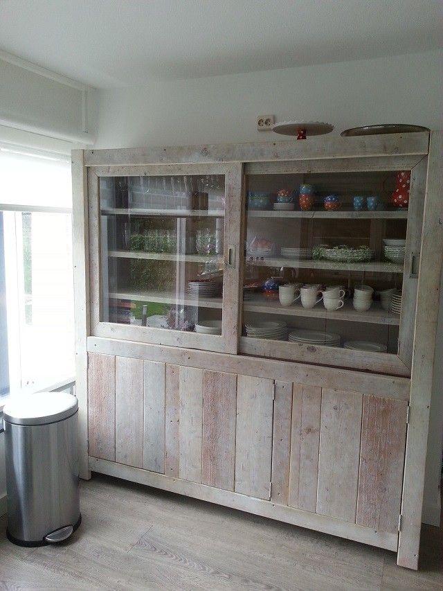 Wandkast Schijndel - Kasten - Woon- eetkamer | Interieur | Pinterest ...