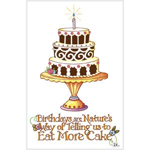 Eat more cakebirthday card inside reads wishing you a slice of eat more cake mary engelbreit birthday card bookmarktalkfo Image collections