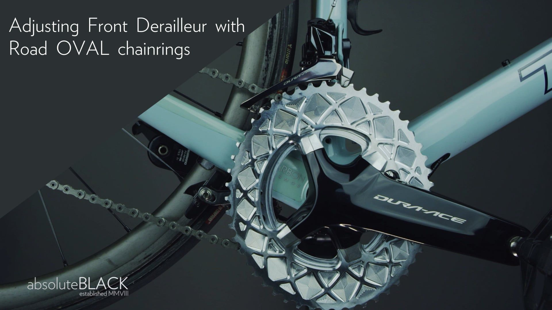Premium Oval Rings For Da9100 Ultegra 8000 Derailleur