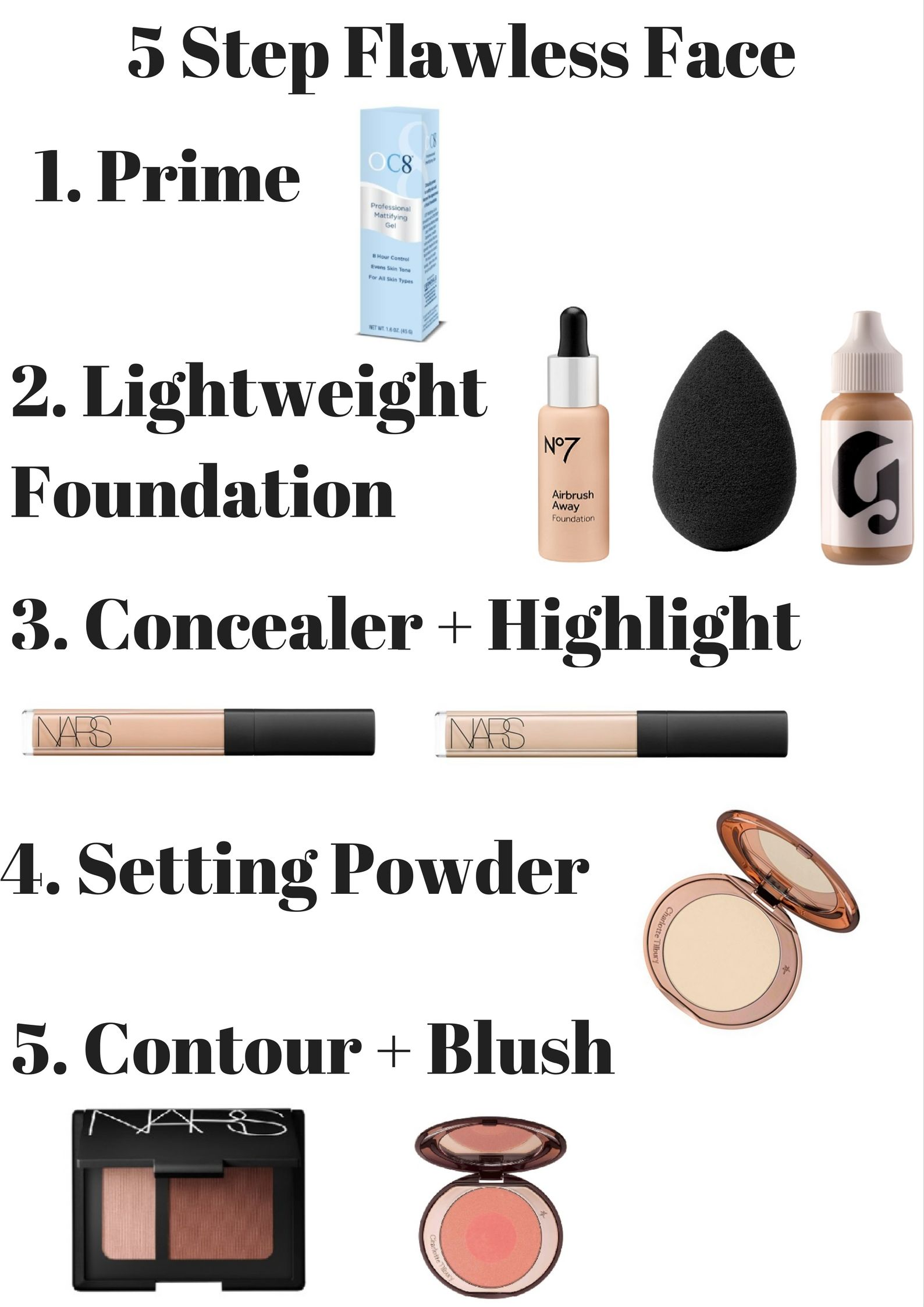 How to Apply Flawless Foundation in 5 Steps Makeup