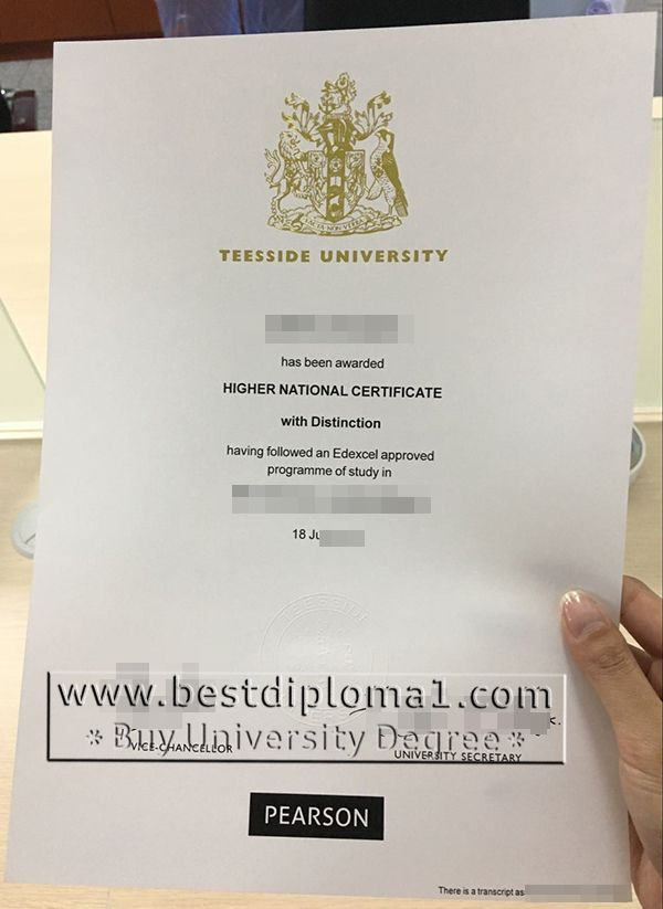 Teesside University certificate fake UK, buy Teesside diploma - degree certificate template
