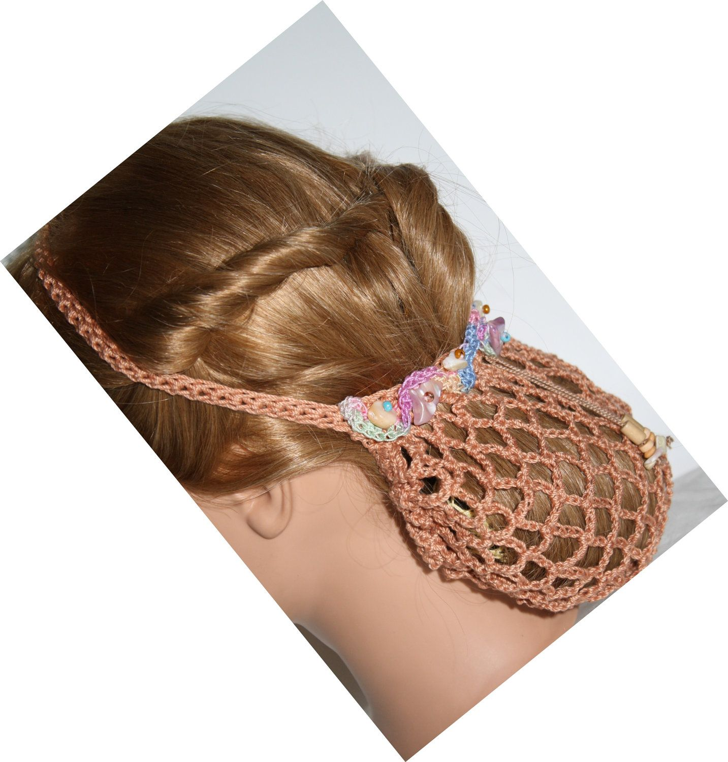 Old Fashion Hair Nets Coral 1940s Style Fashioned Into 2012 Hair Net Bride Wedding Party Old Fashioned Hairstyles Hair Nets Pretty Hairstyles