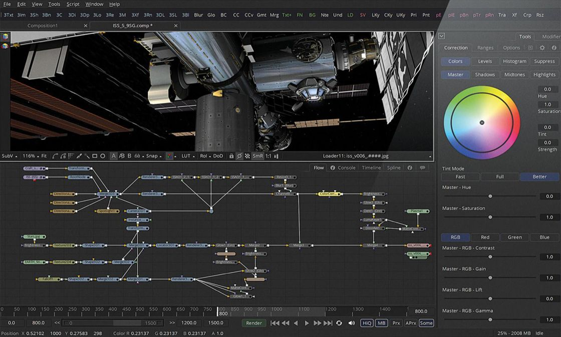The world's most advanced visual effects, 3D, VR and motion