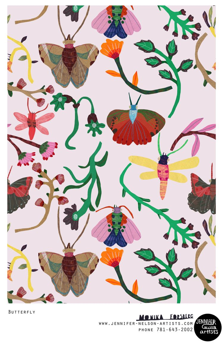 """Butterfly"" - Monika Forsberg"