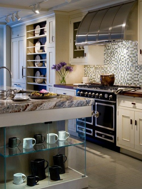 kitchen photo chicago beaded inset cabinets beige cabinets shaped kitchen design ideas remodels photos matchstick tile - Matchstick Tile Home Design