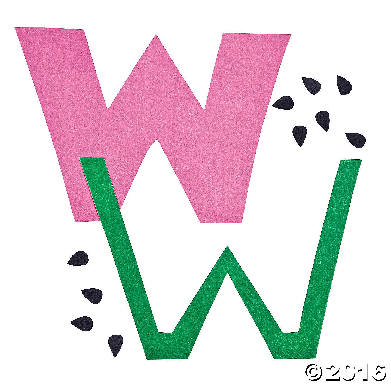 w-is-for-watermelon-lowercase-letter-w-craft-kit~13603468-a01 (1500 ...