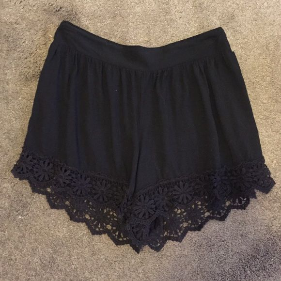 cute shorts with lace