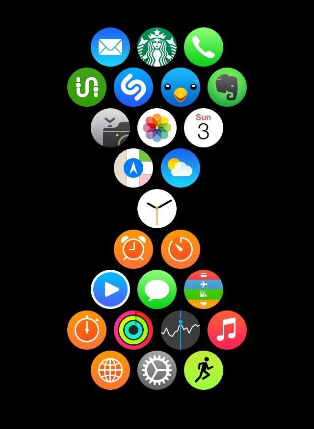 Apple Watch App Layout Customizations