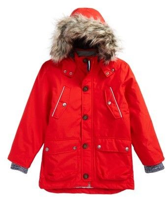 b1fe7272849e Boy s Mini Boden Waterproof Parka