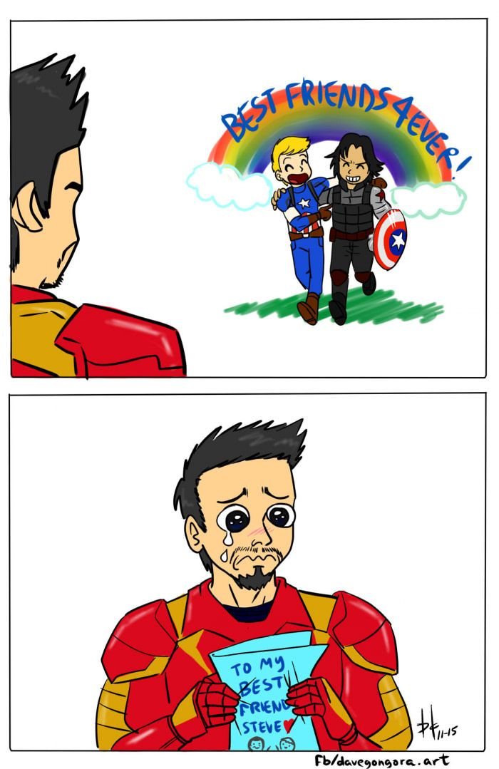 Captain America Meme Comic