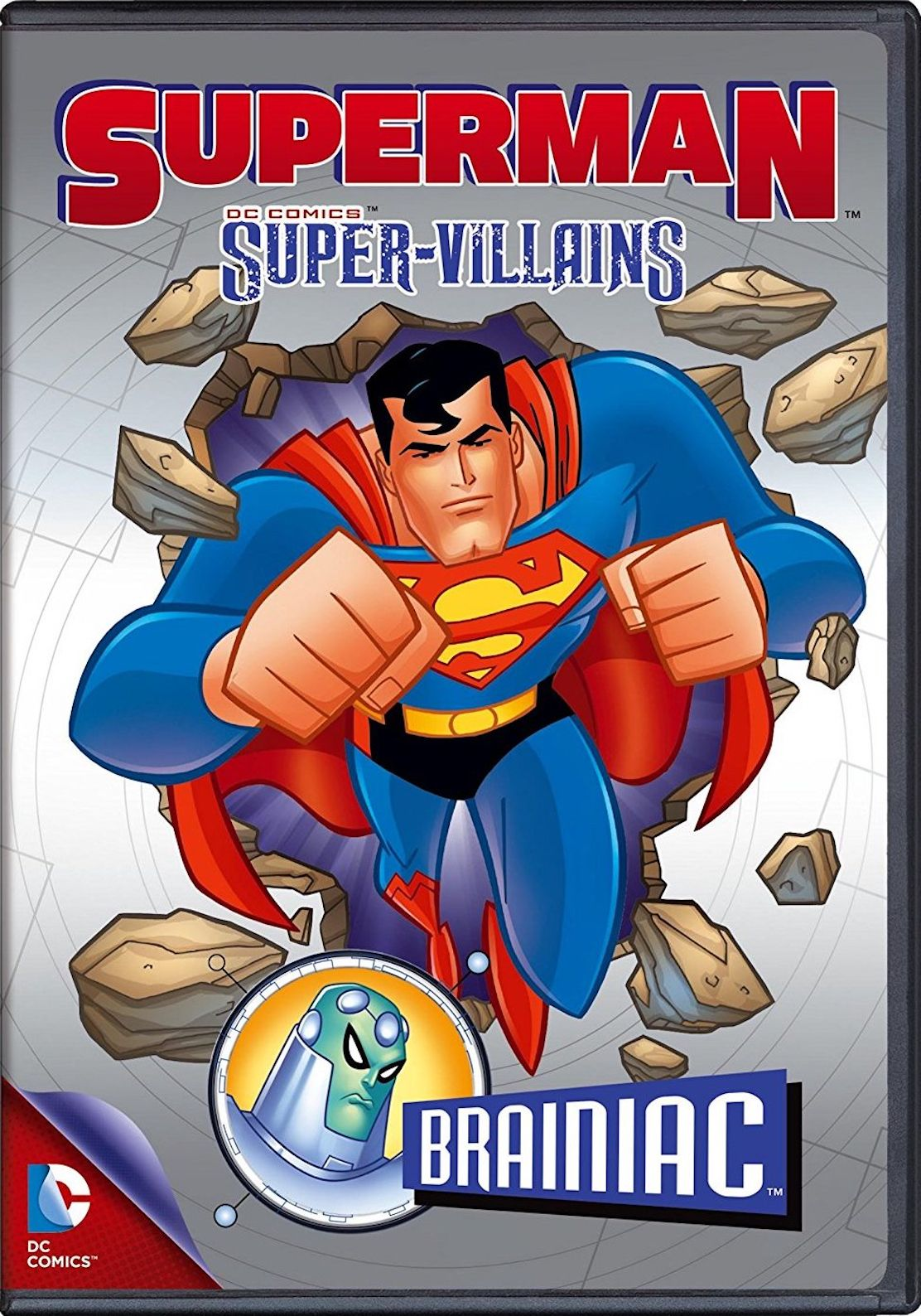 SUPERMAN SUPERVILLAINS BRAINIAC DVD Super villains