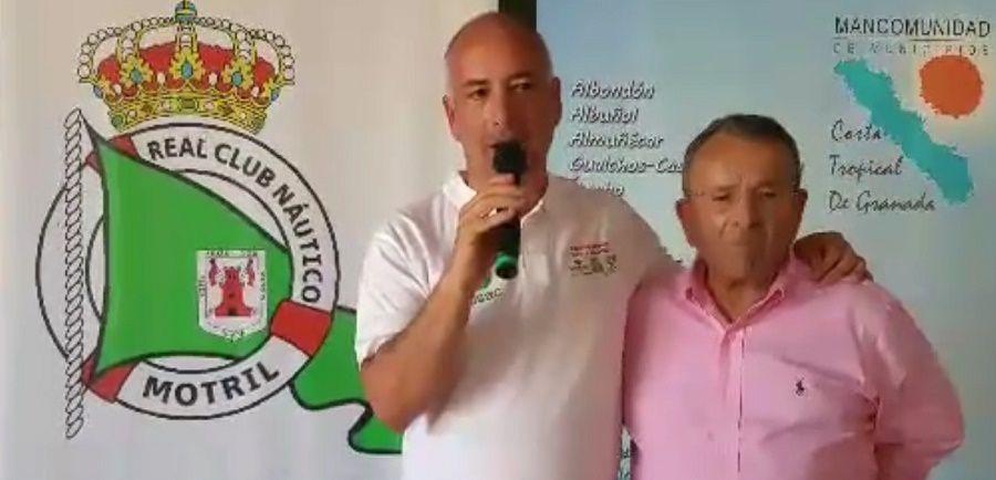 """MOTRIL.Sergio García: """"el éxito de la I Regata de la Costa Tropical nos anima a seguir apostando por eventos que aúnen deporte y turismo, haciendo más grande nuestra costa""""."""