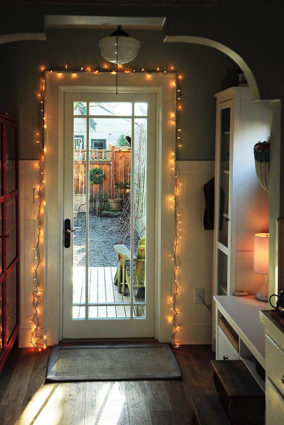 45 Inspiring ways to decorate your home with string lights ...