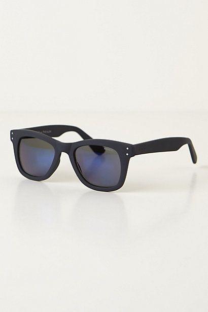 Komono Matte Flash Sunglasses #anthropologie