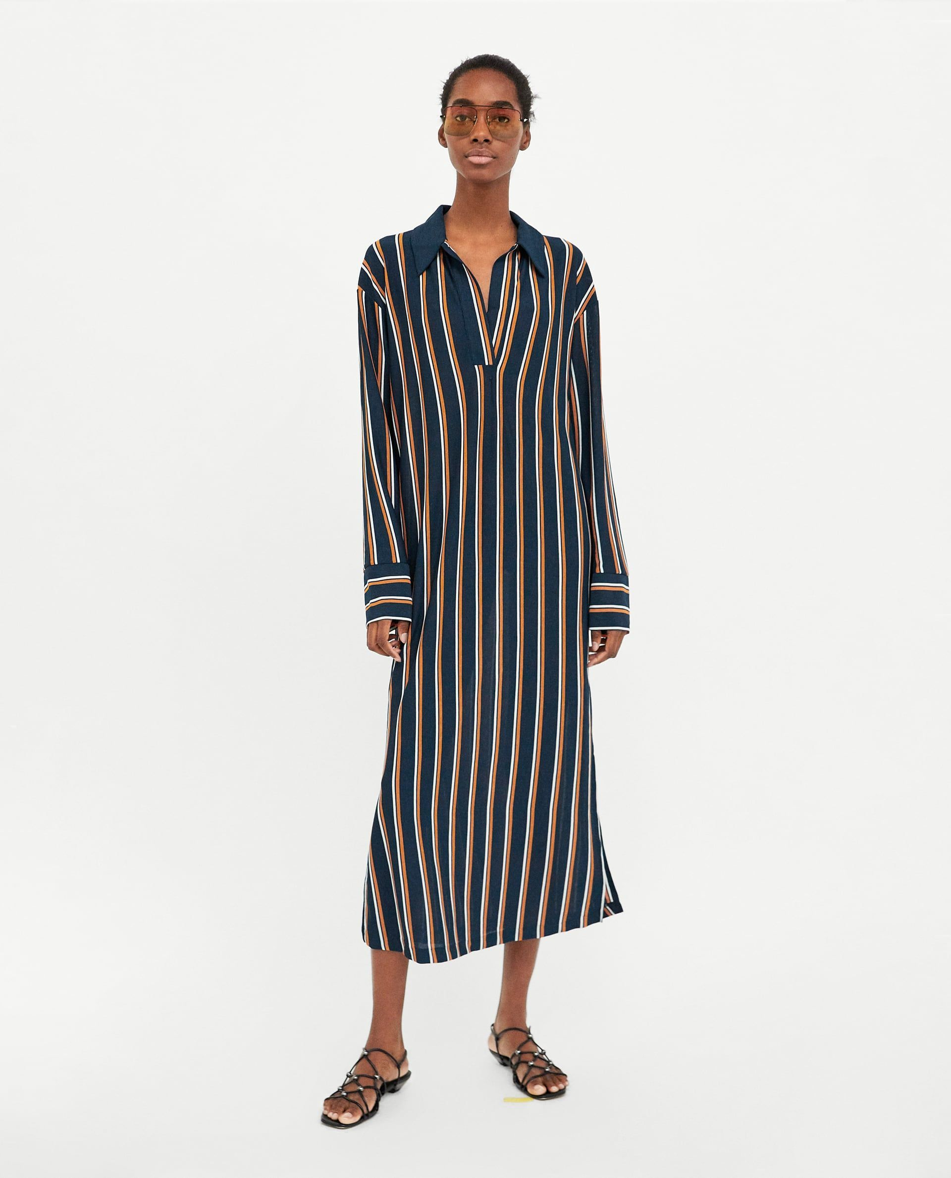 d921bd3f90 Zara's Got Your Midi-Dress Needs Sorted in 2019 | Things to Wear ...
