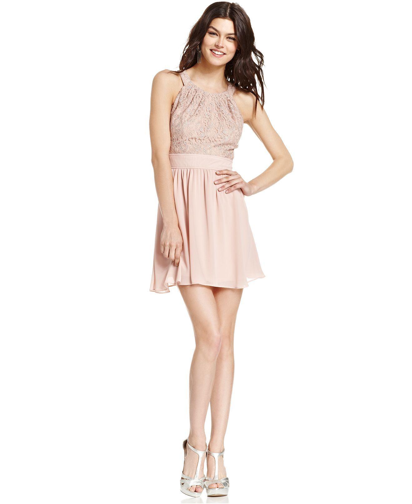Beige Dresses for Juniors
