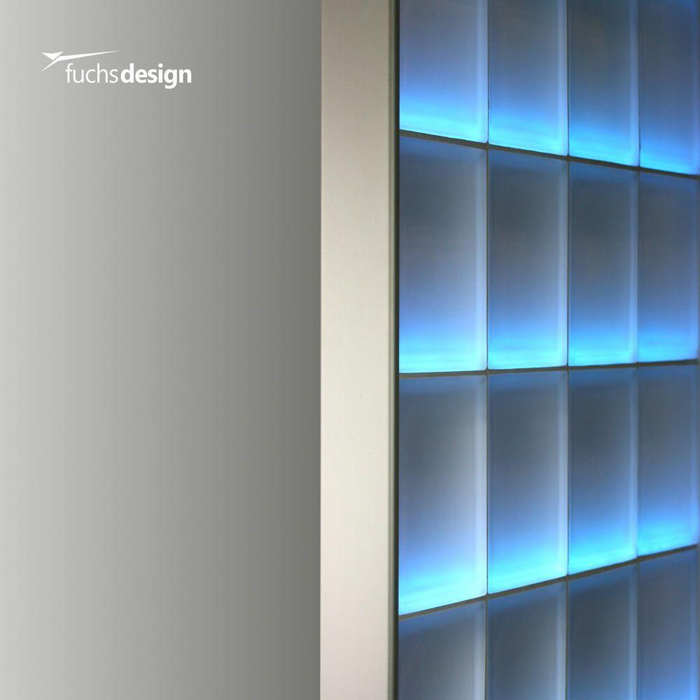 Details zu Abschlussprofil für 8cm starke Glasbausteine Glasstein in ...