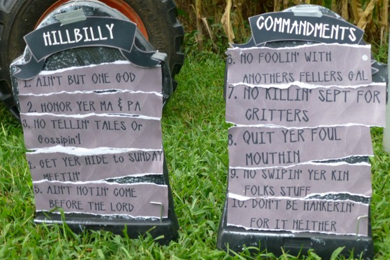 Trailer Trash Halloween Decorations 2020 Pin on Red Neck Halloween Party