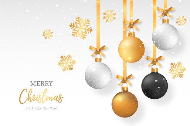 Elegant Christmas Background Images.Elegant Christmas Background With Stylish Christmas Balls