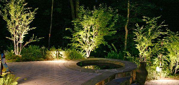 eclairage jardin c t jardin pinterest jardin de jardins et campagne. Black Bedroom Furniture Sets. Home Design Ideas
