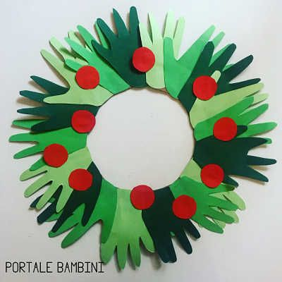 Photo of Ghirlanda natalizia fai da te. #natale #Christmas #christmasdecor #christmascraf …