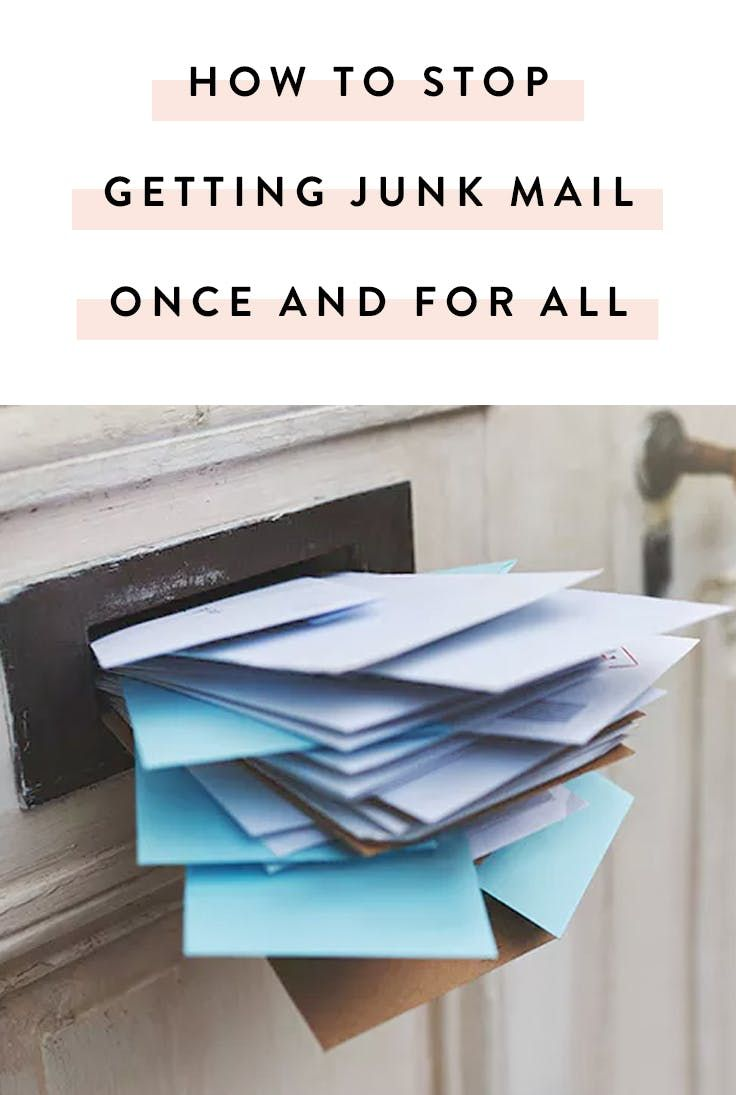 how to stop getting junk in the mail once and for all can 39 t hurt might help faire soi meme. Black Bedroom Furniture Sets. Home Design Ideas