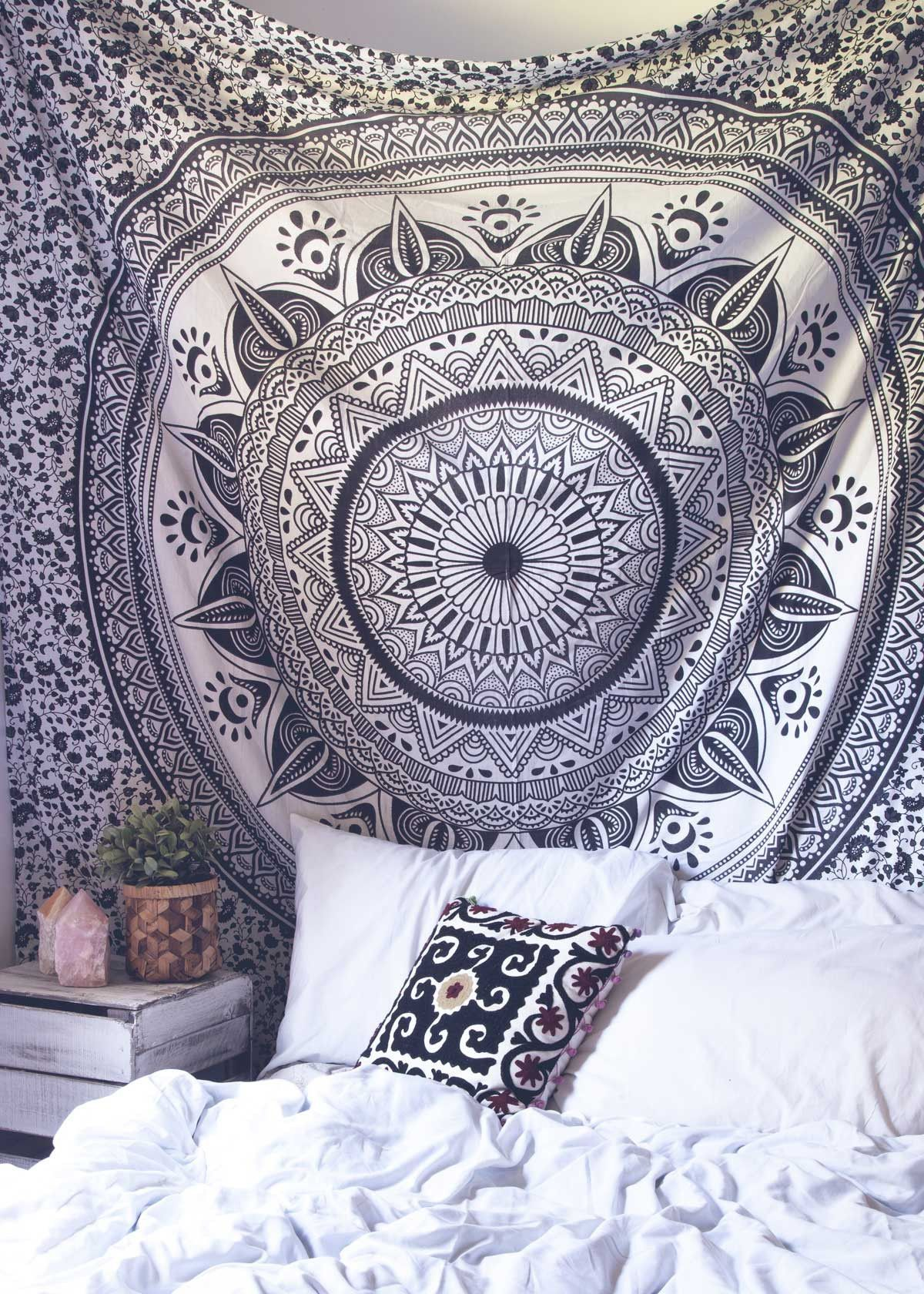 Top Off Your Bed Or Accent A Wall With This Unique Boho