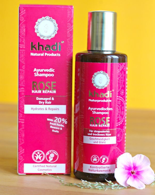khadi rose hair repair shampoo test extrem trockene haare haarpflege shampoo ohne silikone. Black Bedroom Furniture Sets. Home Design Ideas
