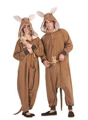 Unisex 86207: Kittle Kangaroo Adult Costume Brown Animal Pajamas Costumes Jumpsuit -> BUY IT NOW ONLY: $52.99 on eBay!