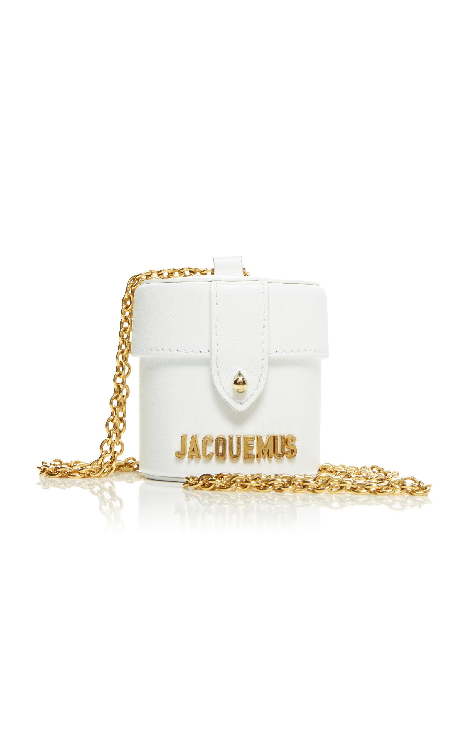 2ffbb66c8607d Le Vanity Leather Mini Bag by JACQUEMUS Now Available on Moda Operandi