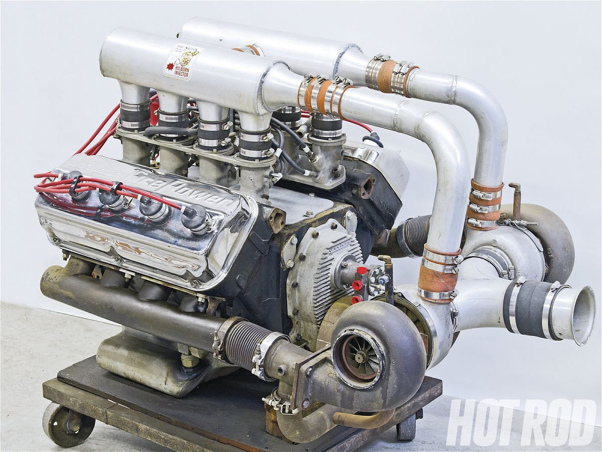 hight resolution of twin turbo early hemi