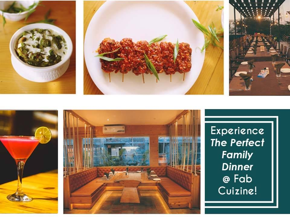 Experience The Perfect Family Dinner At Fab Cuizine Address