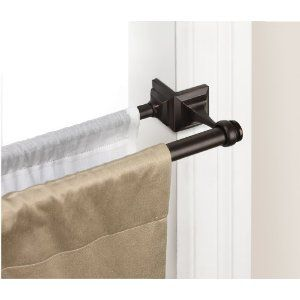 umbra mission double tension curtain