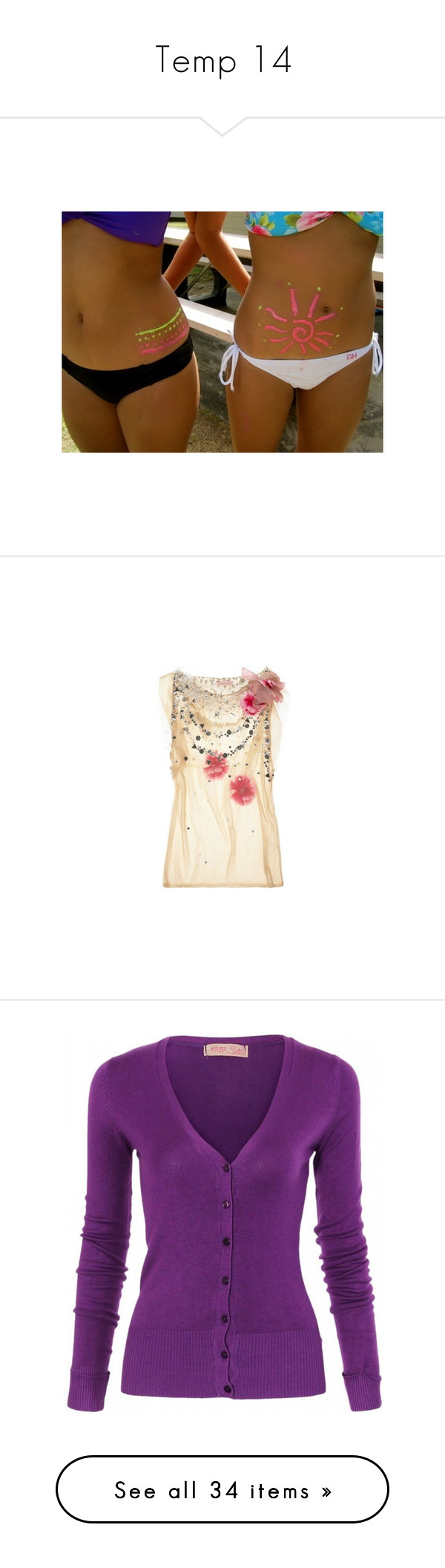 """Temp 14"" by katiemarilexa ❤ liked on Polyvore featuring best friends, girls, tops, tulle top, tan top, embellished sleeveless tops, layered tops, embroidered top, cardigans and shirts"