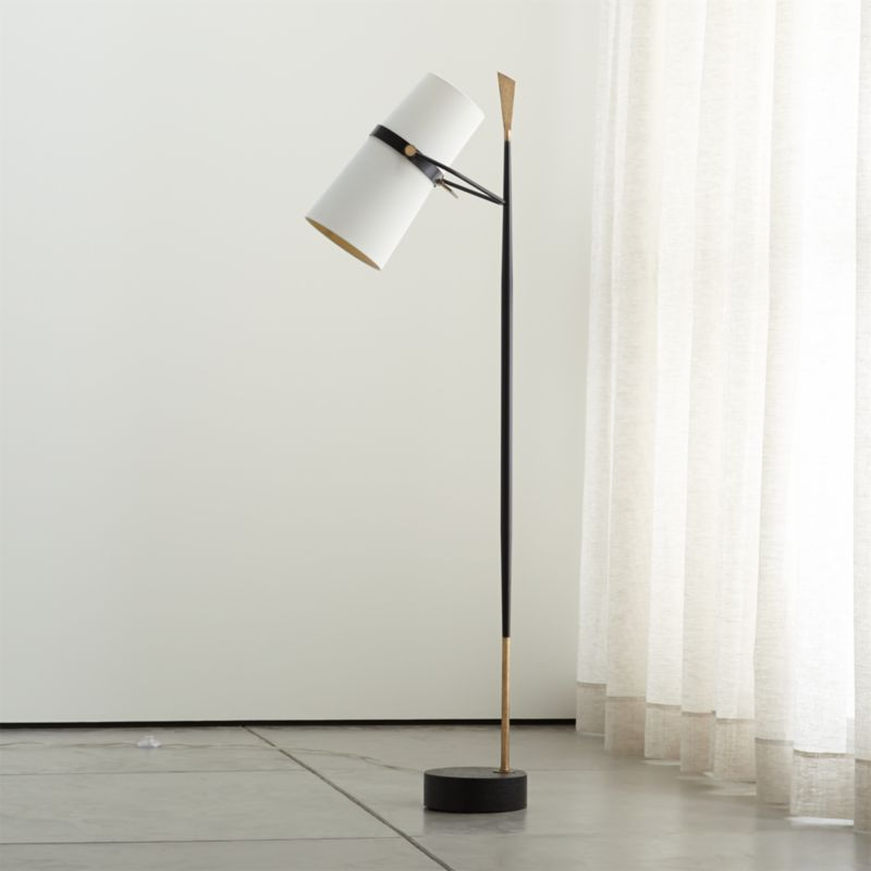 Riston Floor Lamp + Reviews   Crate and Barrel in 2020 ... on Riston Floor Lamp  id=96770