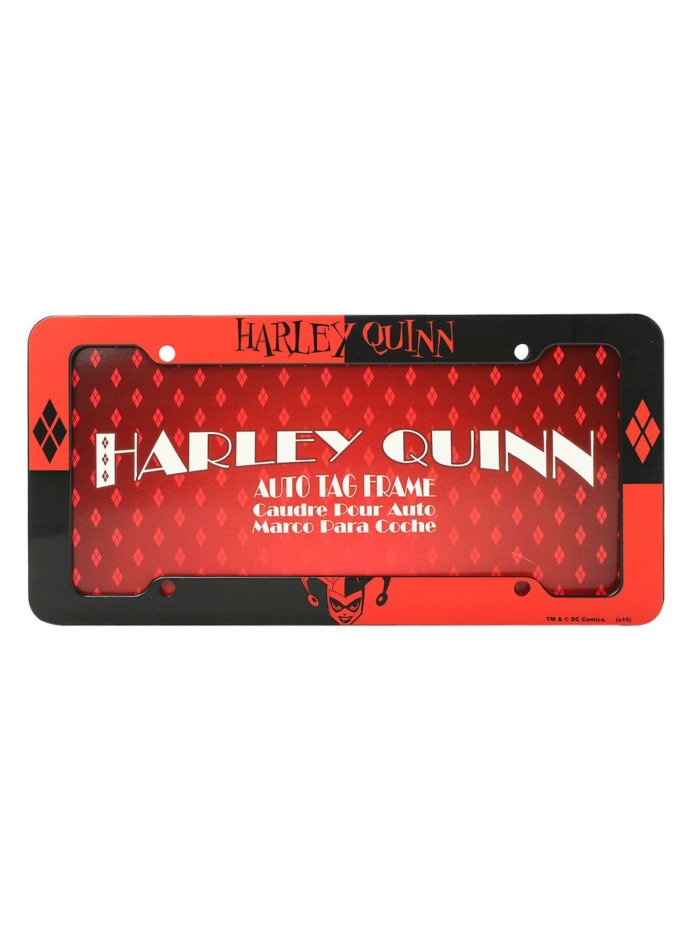 DC Comics Harley Quinn License Plate Frame