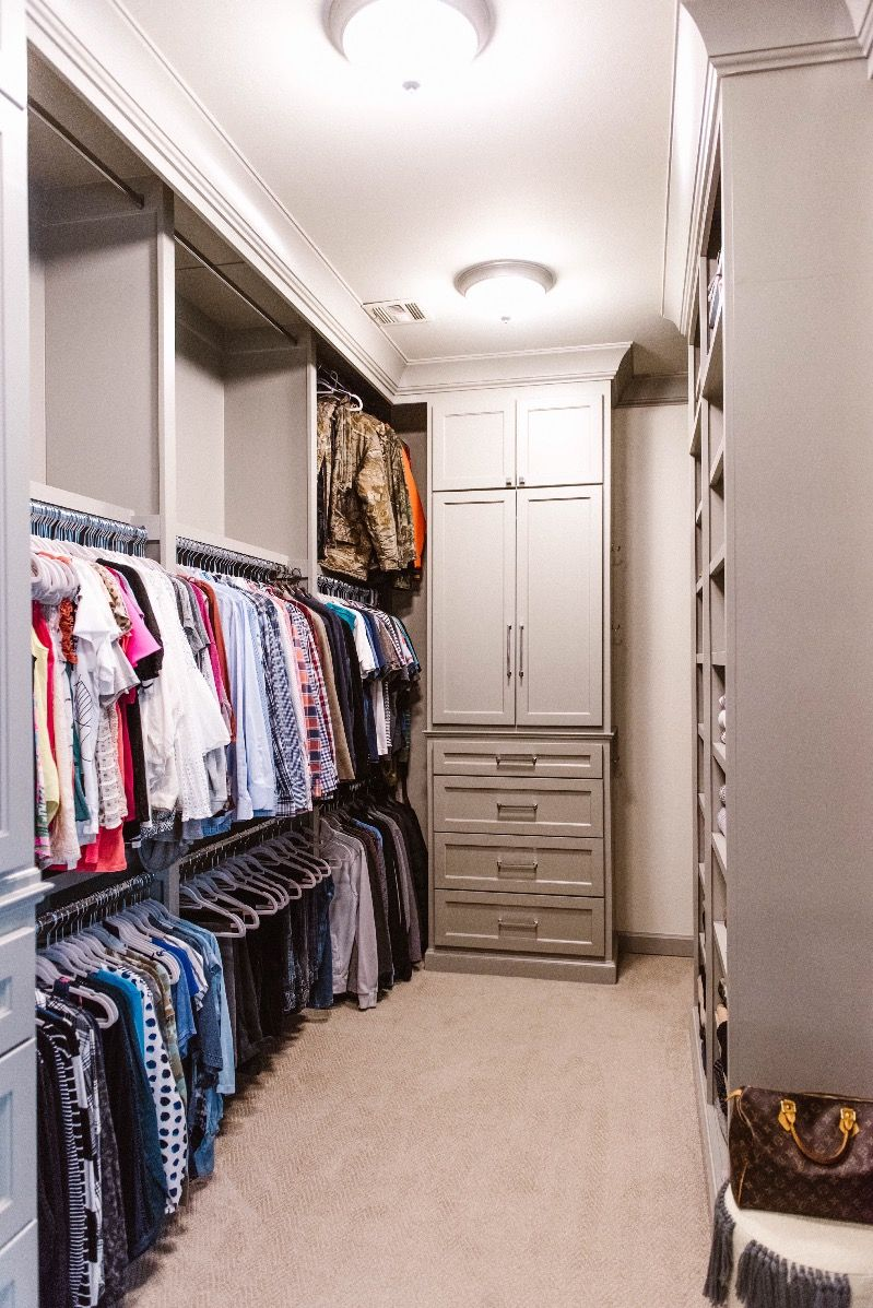 Master Closet Organization Ideas Lifestyle Curls Cashmere