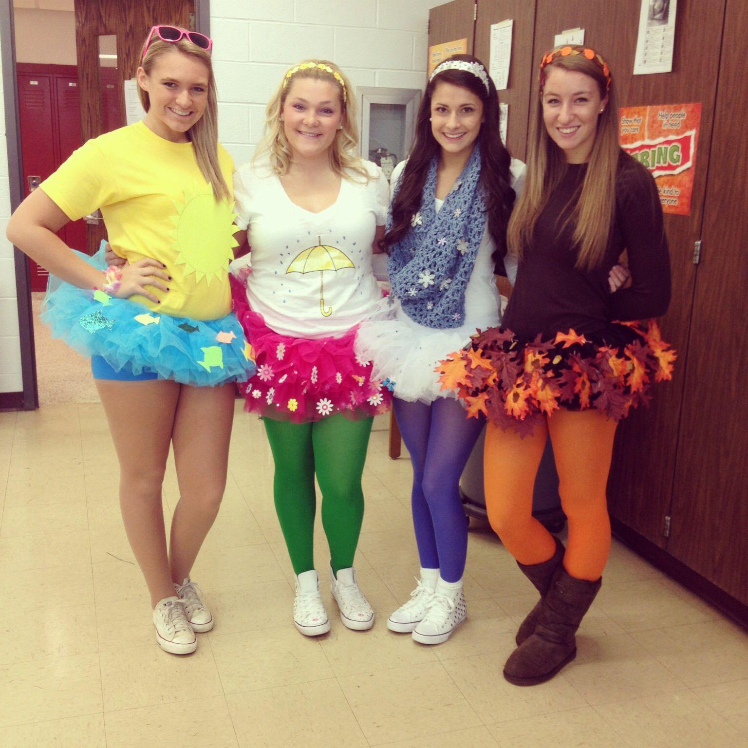 4 seasons halloween costume - Easy Teenage Girl Halloween Costumes Ideas