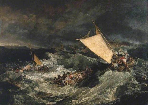 The Shipwreck - JMW Turner