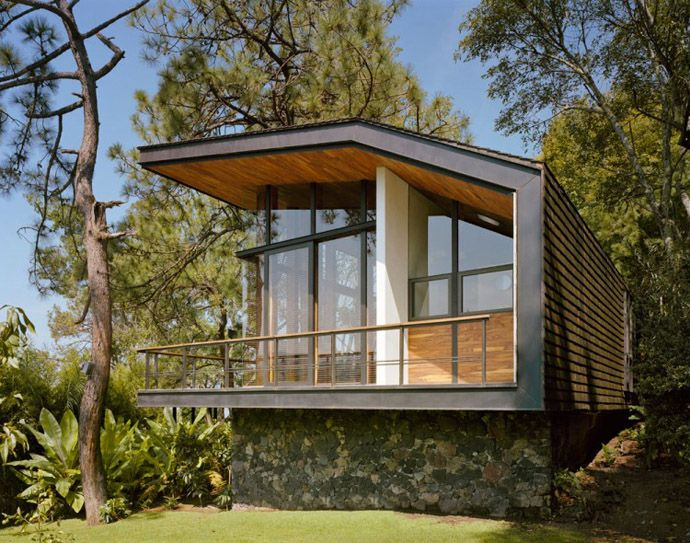 Pleasant Solitary House In The Woods By Parque Humano Mexico Dream Download Free Architecture Designs Scobabritishbridgeorg